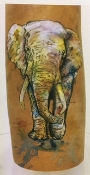 Alcohol Ink Elephant