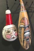 Old Pottery Christmas Ornaments