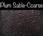 Plum Sable- Coarse